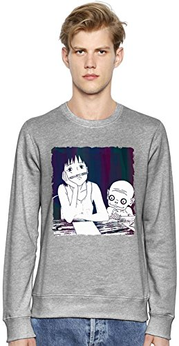 Momo Chilling At School Unisex Sweatshirt Medium