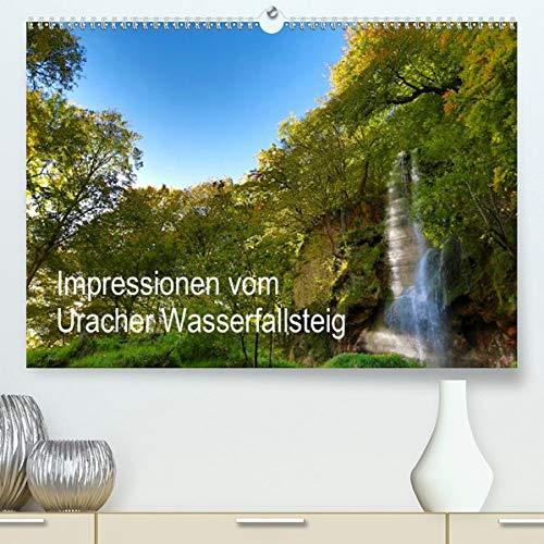 Impressionen vom Uracher Wasserfallsteig (Premium-Kalender 2020 DIN A2 quer): Zauberhafte Landschaftsaufnahmen entführen in die einzigartige Welt der ... (Monatskalender, 14 Seiten ) (CALVENDO Natur)