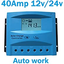 Regulador solar de carga 40A 12V/24V Charge regulator LCD