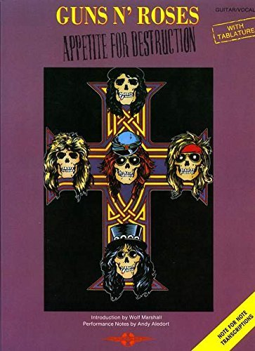 Appetite for Destruction: (Guitar TAB) by Guns n' Roses(2009-01-08) - Roses Guns And Tab