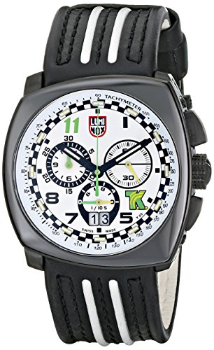 Luminox Men's 1146 Tony Kanaan Edition Analog Display Analog Quartz Black Watch