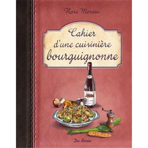 Cahier d'une cuisinière bourguignonne