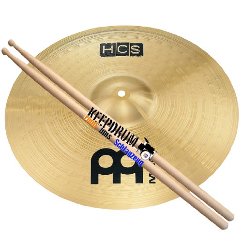 Meinl HCS 16 Crash Becken + Keepdrum Drumsticks GRATIS!!!!