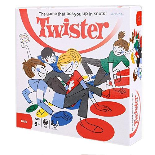 Arshiner Hasbar Twister Tappetino Gioco di Società Sviluppo Intellettuale Gioco di Carte per L'inizio del Genitore-Bambino Giocattolo Casa Interazione Educazione dell'Infanzia{Versione Inglese}