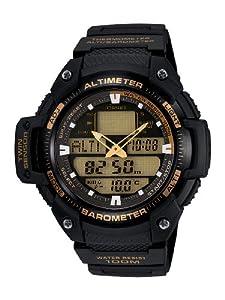 Casio Homme , Modele : SGW-400H-1B2VER, Mouvement : Quartz, Boitier : Rond Résine, Cadran : Vert , Verre : Plexiglas, Etanchéité : 10 ATM, Bracelet : Résine , Couleur Bracelet Noir , Longueur Bracelet : Homme - Standard, Boucle : Boucle Ardillon.