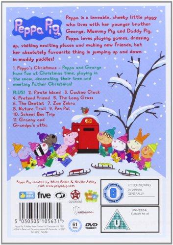 Peppa Pig  Peppa s Christmas  Volume 7   DVD