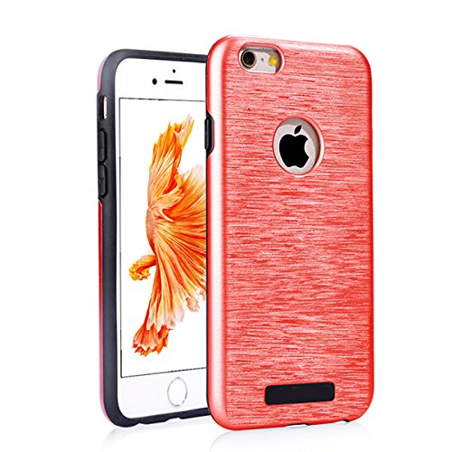 """iPhone 6sPlus Handyhülle, [High Pro Shield Serie] CLTPY iPhone 6Plus Premium 2 in 1 TPU & Hardplastic [Schwarz] Doppelte Schutzschicht & Extrem Hoher, Stoßdämpfende & Kratzfeste Back Cover für 5.5"""" Ap Rot A"""