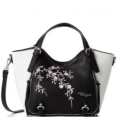 Sac ROTTERDAM Blossom Noir Femme Desigual