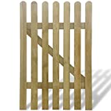 SENLUOWX Gartentor aus Holz Zaun Outdoor Tor 100x 150cm