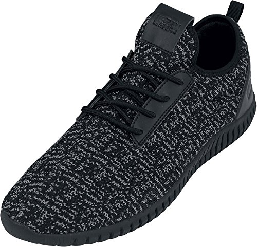Urban Classics Schuhe Knitted Light Runner Nero/Grigio/nero