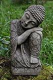 Gallois de Sommeil Bouddha en pierre pour décoration de jardin/Statue/Sculpture