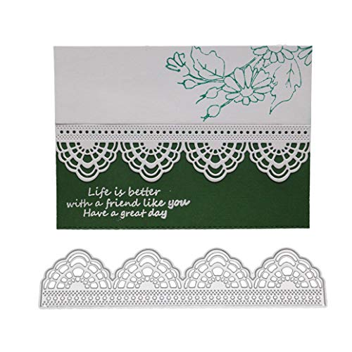 panplatten Stanzschablonen Metall Schneiden Schablonen für DIY Scrapbooking Album, Schneiden Schablonen Papier Karten für die Kartenherstellung Sammelalbum Dekor ()