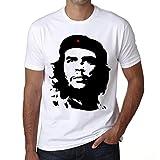 Che Guevara White, tshirt herren, tshirt mit bild, tshirt geschenk