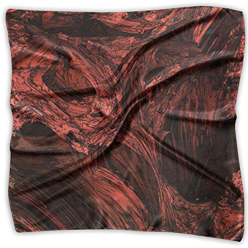 Rghkjlp Abstract Art Printed Square Scarf Scarve Head Wrap Shawl -