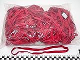 Progom - Gummibänder - 250(Ø159)mm x 10 mm - rot - 1kg beutel
