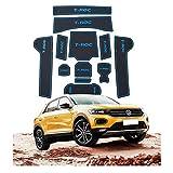 YEE PIN Tapis antidérapant pour Voiture Compatible avec Volkswagen VW T-ROC SUV...