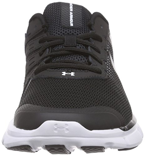 Under Armor Ao Micro G Speed Swift Mens Scarpe Da Corsa Nere (blk / Wht / Wht 1)