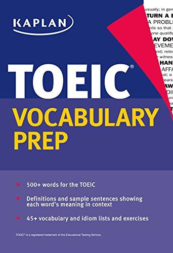 Kaplan TOEIC Vocabulary Prep Cover Image