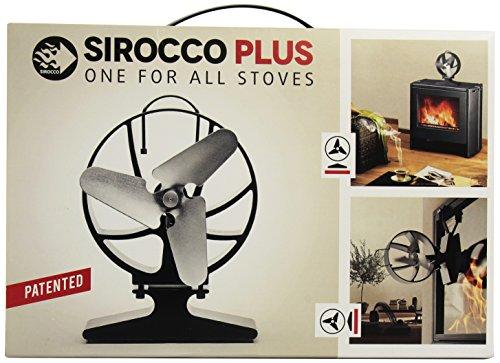 Galleria fotografica HANSA SIROCCO PLUS è un ventilatore termoelettrico per i camini chiusi e le stufe