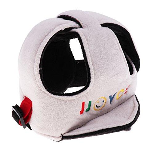 Preisvergleich Produktbild Prettyia Baby Helmet Schutzhelm Babyhelm Einstellbare Sicherheit Kopfschutz Kopfschutzmütze Kappe - Grau