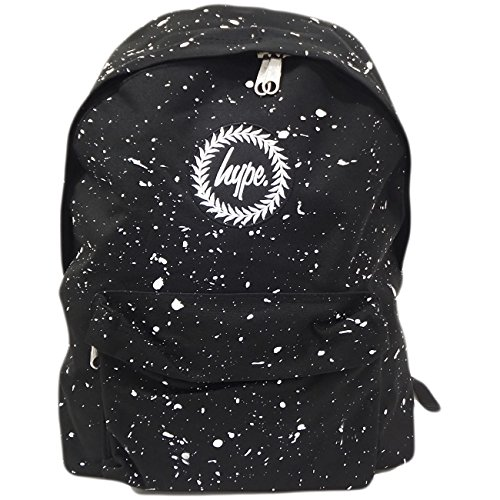 Hype Zaino Splatter Black / White
