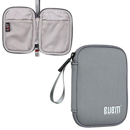 84 Mini-anhänger (BUBM Mini Schutzhülle Externe Festplattentasche Tragetasche Geeignet zu Festplatte bis 2,5 Zoll Sowie Kabel(Klein, Grau))