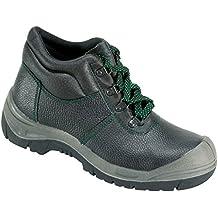 Sicherheits-Schnürstiefel Sicherheits-Stiefel ROSTOCK ÜK EN ISO 20345 S3 SRA - Weite 10,5 - schwarz - Größe: 39