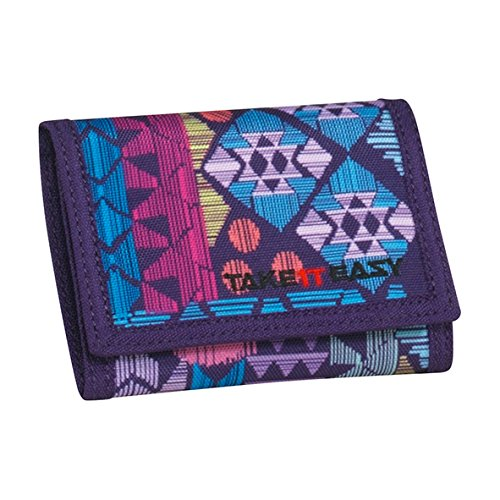 Preisvergleich Produktbild Take It Easy Geldbörse Aztec lila 499059 aztec lila