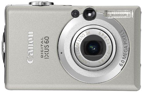 Canon Digital IXUS 60 Digitalkamera (6 Megapixel)