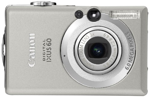 Canon Digital IXUS 60 Digitalkamera (6 MP) -
