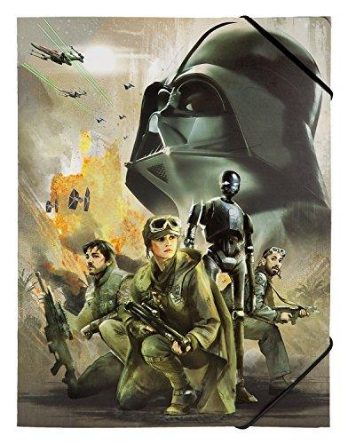 Undercover SWRO0300 - Gummizugmappe A4 Disney Star Wars Rogue One