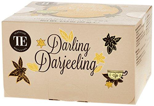 TE - Teahouse Exclusives Organic Tea Darling Darjeeling 16 Beutel, 2er Pack (2 x 32 g)