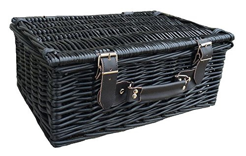 36cm Black Willow Basket