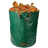 Holzkomposter aus Kiefernholz und Korb 120x80x60 cm 123home24 Abfall & Recycling