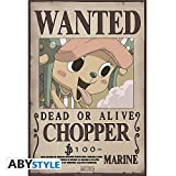 ONE PIECE - Poster Wanted Chopper New (52x38)