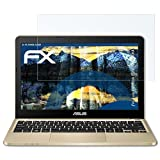 atFolix Panzerfolie für ASUS VivoBook E200HA (E200HA) Folie - 2 x FX-Shock-Clear stoßabsorbierende ultraklare Displayschutzfolie
