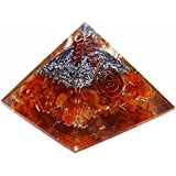Harmonize Orgonita Pirámide Mezclado Orgón Energía Generador curativo de Cristal Chakra