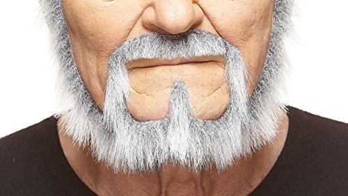 dlerr fälschen, selbstklebend Bart mit weiß ()