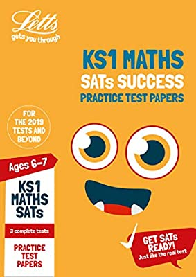 KS1 Maths SATs Practice Test Papers: 2019 tests (Letts KS1 SATs Success) by Letts