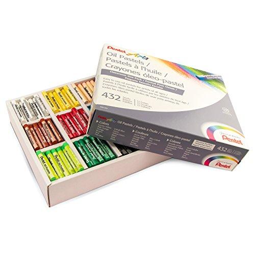 Oil Pastels, 432/PK, Multi, Sold as 1 Package