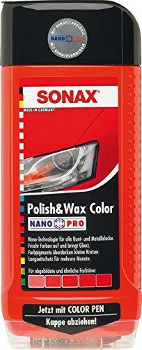 Sonax 02964000-544 Polish & Wax Color Nanopro Cera para Coche, 500 ml