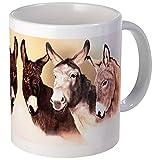 CafePress–Esel–Tasse, keramik, weiß, S