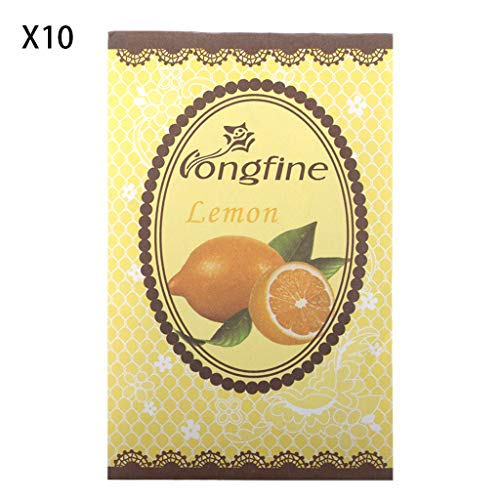 Runrain 10 pezzi di spezie naturali deodorante profumo, sacchetto di carta, Auto Home Fragrance 05