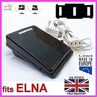 Controlador de pedal de máquina de coser 3 cuchillas verticales en línea para Elna Star Series