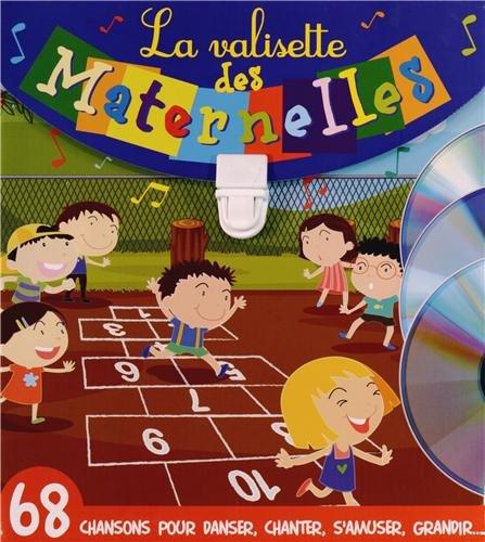 La valisette des maternelles : Coffret 2 volumes : Les p'tits curieux de maternelle ; Chante en maternelle (3CD audio)