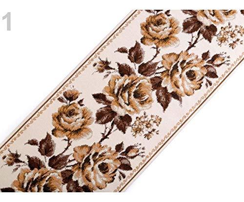 1m 1 Braun Gobelin Stoff/Gobelin Tischläufer Breite 17,5 Cm, Dekorative Stoffe, Organza, Tüllstoff, Satin, Jute, Dekoration -