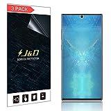 J&D Lot de 3 Films protecteurs d'écran pour Galaxy Note 10 (Pas en Verre), Doux pour...