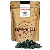 Sevenhills Wholefoods Spirulina Compresse Bio 500mg x 1000, 500g