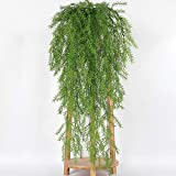 【 Professional for Artificial Plants - 105cm Real Touch Artificial Wall Hanging Plant Pine Needles Home Decoration Balcony Decorattion - Palm Marble Tabletop Bamboo Grapes Decorations Privacy Variety Moss Desk - Best Price Artificial plants】 ...