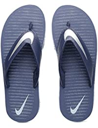 feb7251f5153 Nike Men s Loyal Blue Chrome and Blue Grey Chroma Thong 5 Flip Flops (833808
